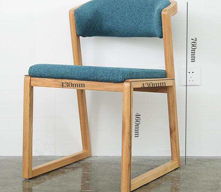 [Hot Item] Solid Wooden Chairs Living Room Chairs Coffee Chairs (M-X2056)