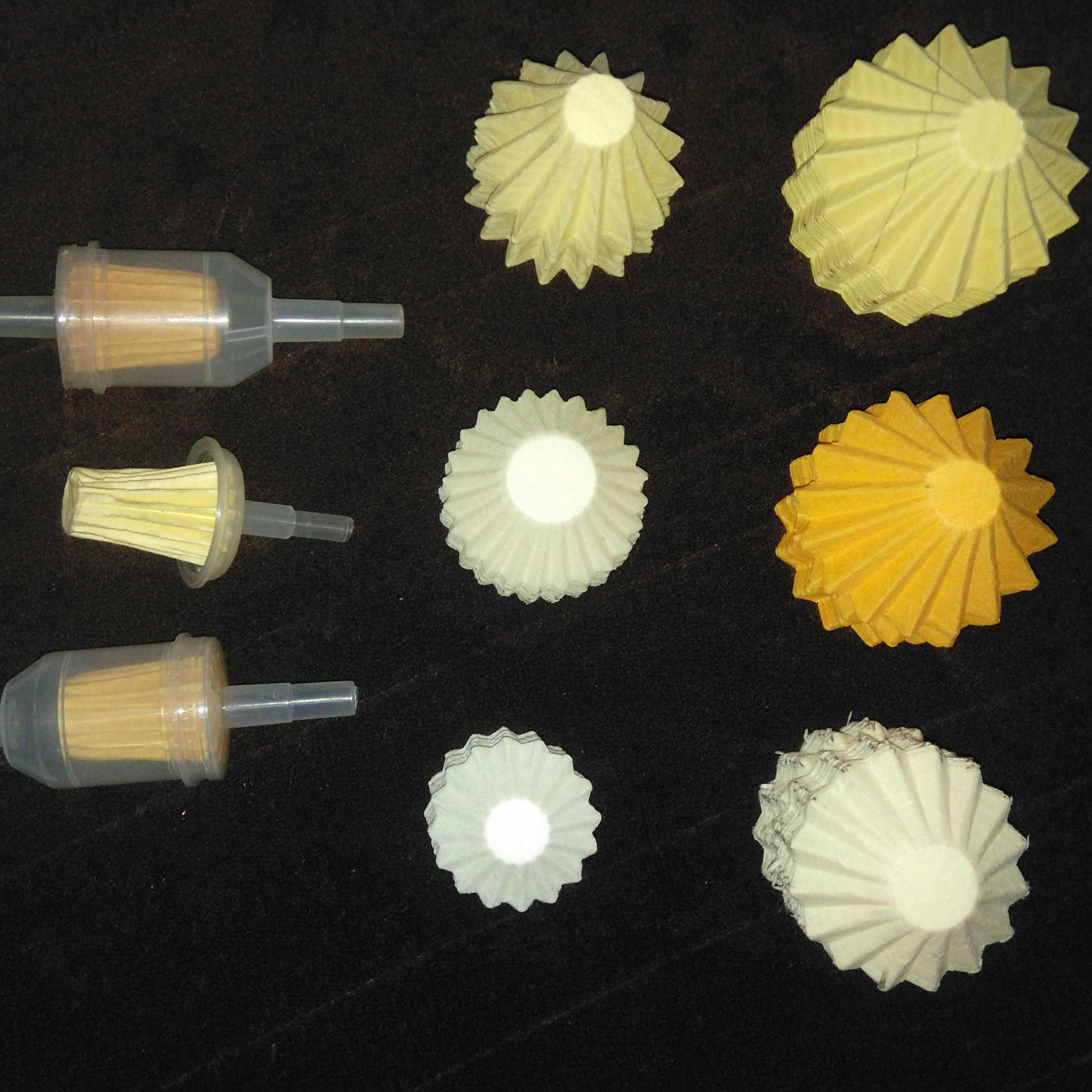 China Oil Air Fuel Filter For Motorcycle Car Paper Making Machine