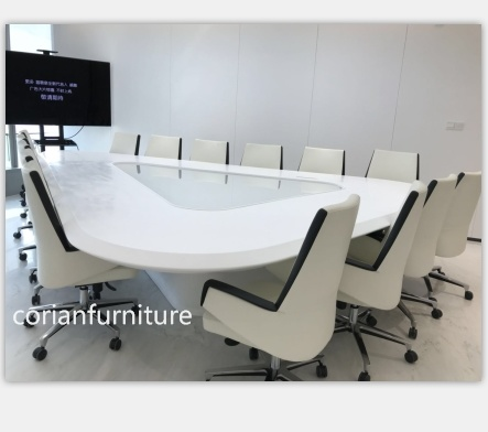 China New Design Corian Office Conference Table Big Size China - Corian conference table