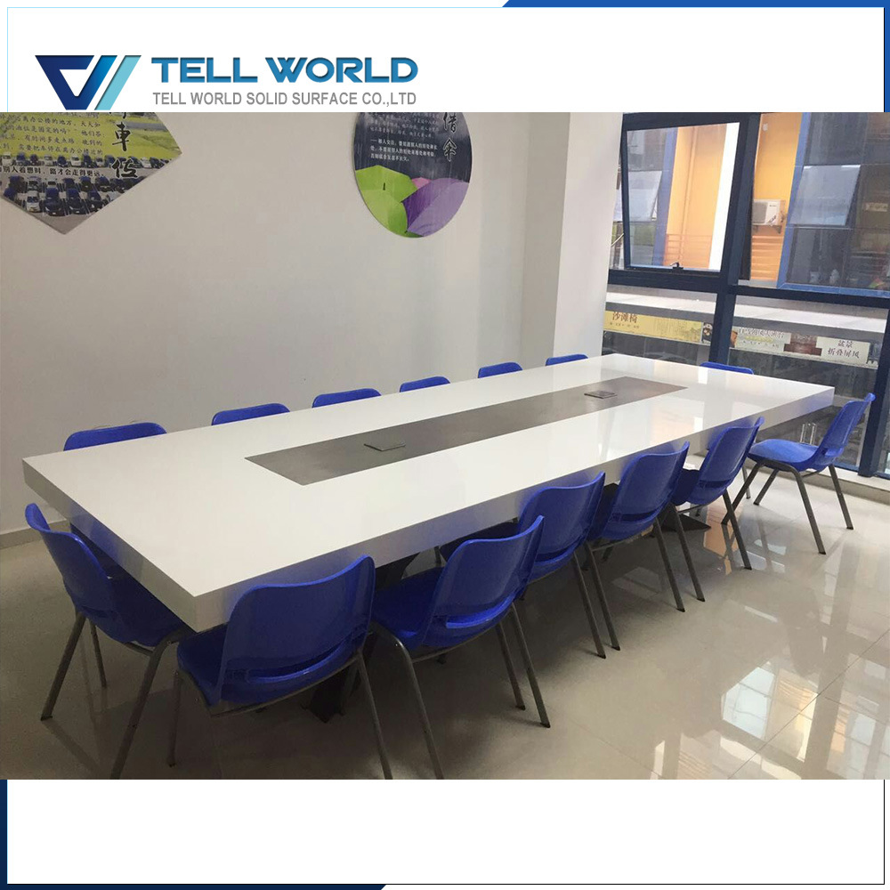 China Hot Sale Conference Table Design For Meeting Room Marble - Marble conference table for sale