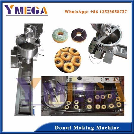 Hot Sale Stainless Steel Automatic Donut Making Machine pictures & photos