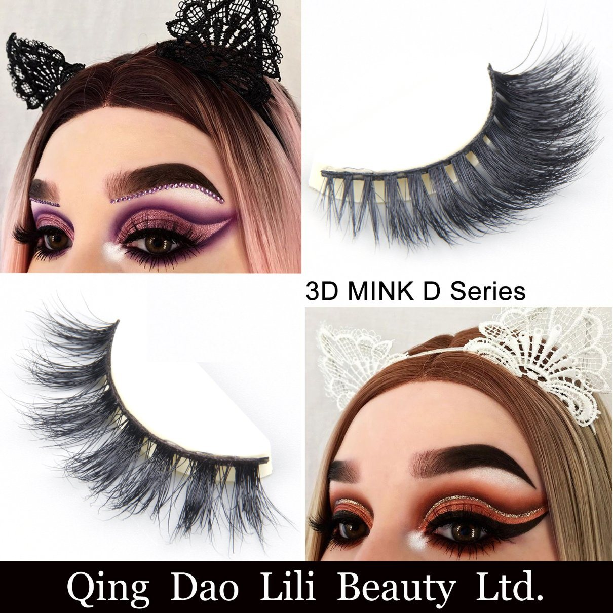 China Lilibeuaty 3d Mink Eyelashes Long Lasting Mink Lashes Natural