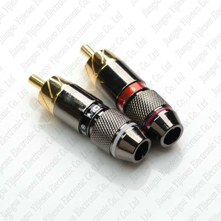 Incredible China Metel Rca Phono Male Plug Solder Connector Adapter Terminal Wiring Digital Resources Funapmognl