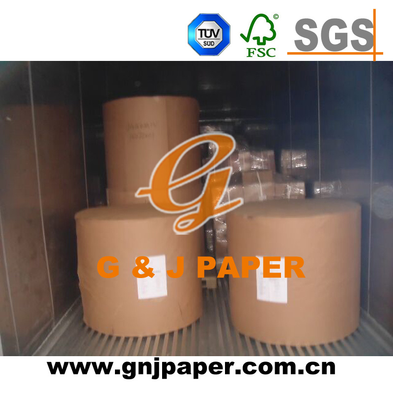 Good Quality Roll Size Copy Paper in Stock pictures & photos