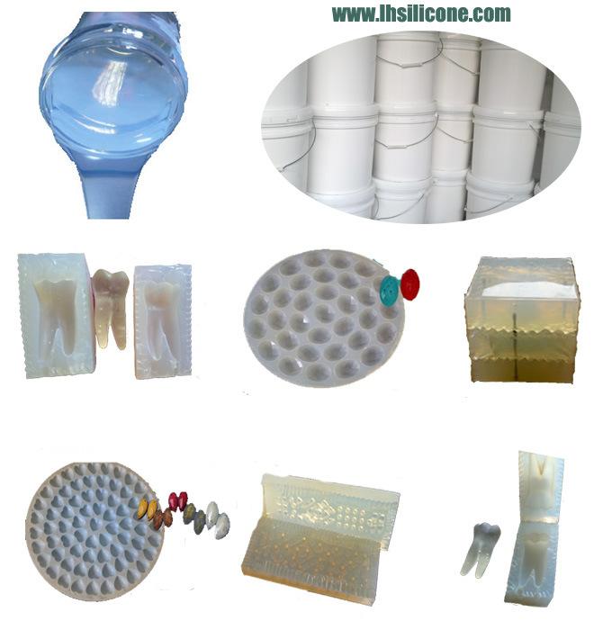 China Jewelry Casting Mold Liquid RTV Silicone Rubber 40 Shore a