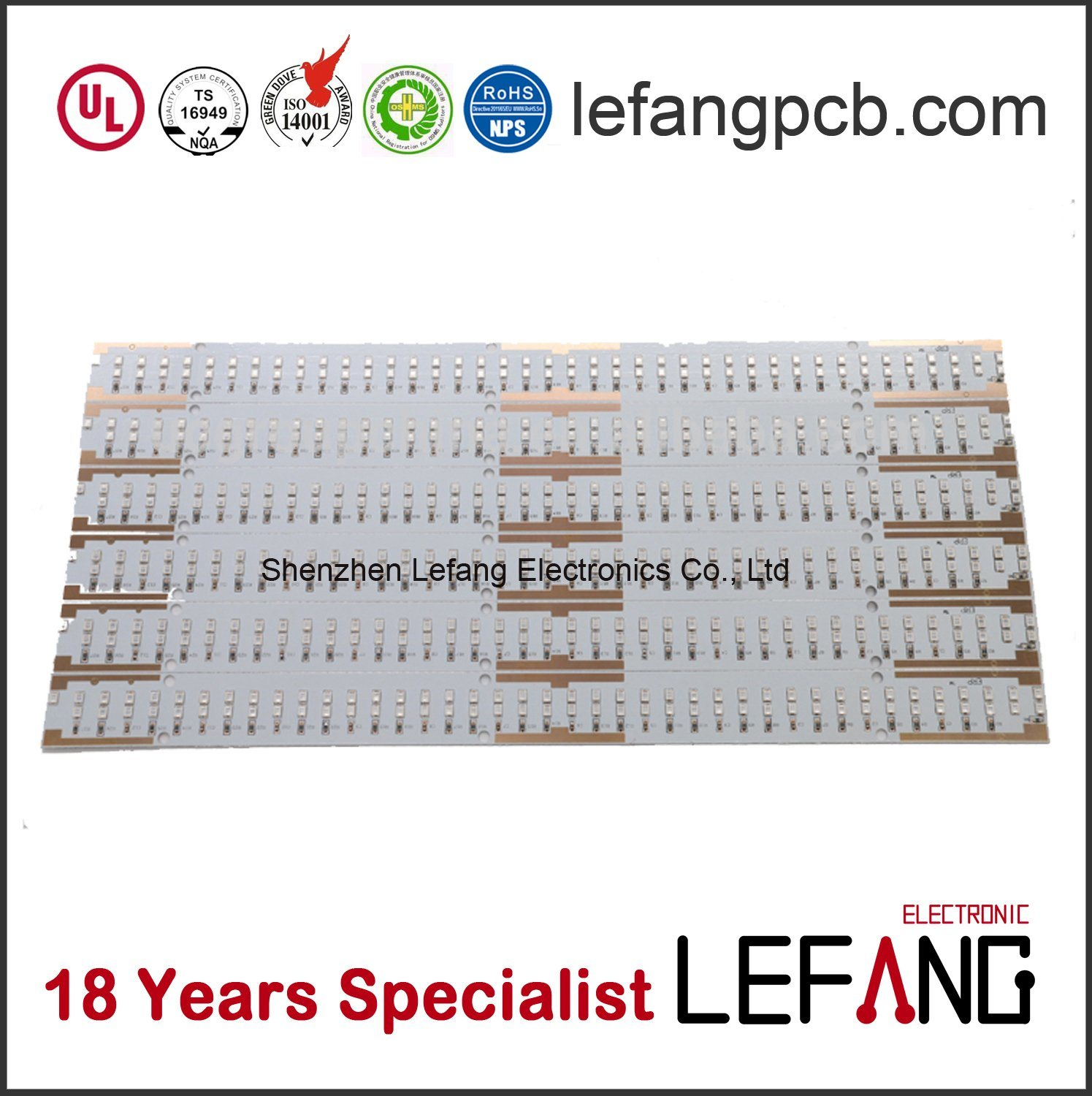 China PCB Circuit Board for LED Panel Light SMD 2835 Photos ...