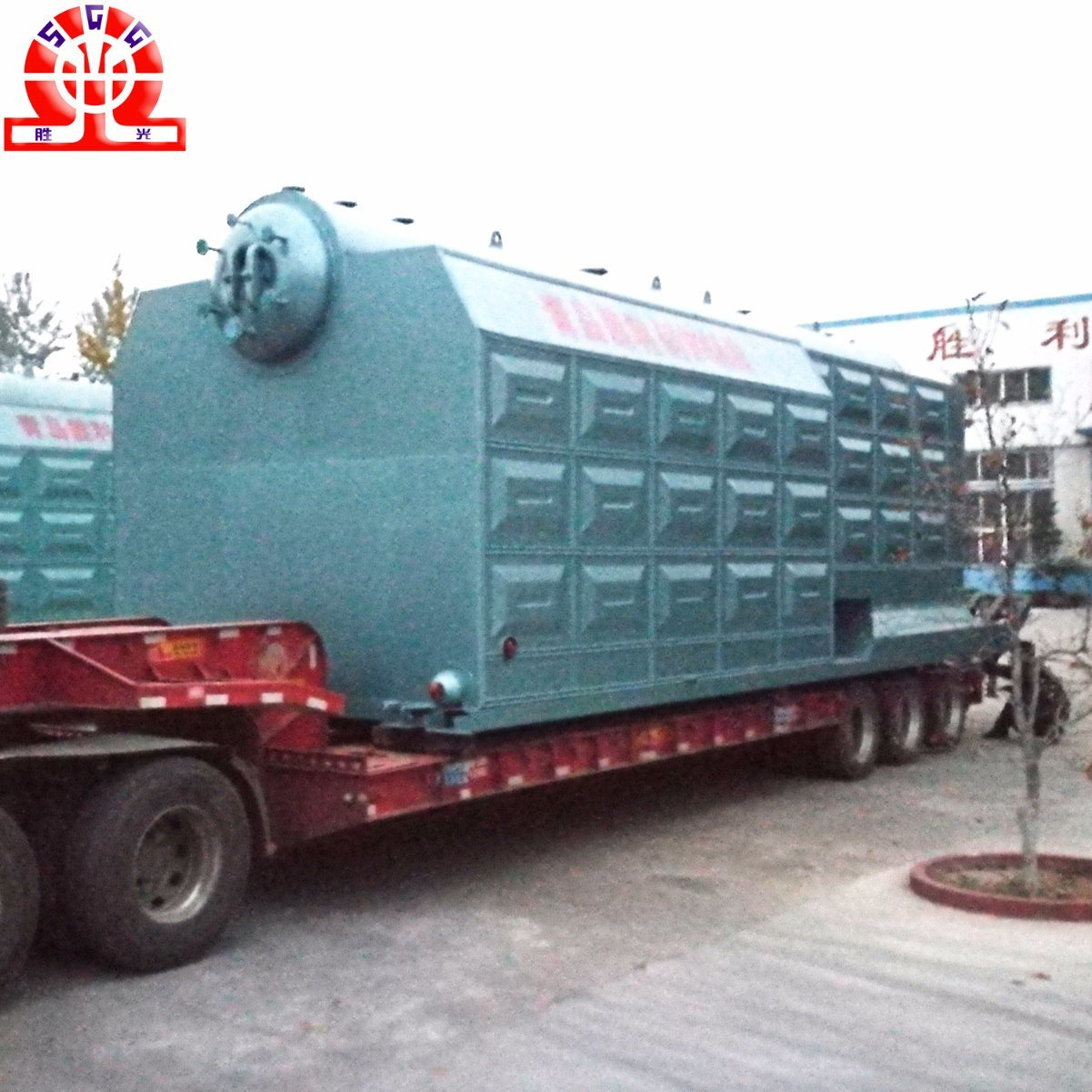 China Water Tube Chain-Grate Double Drum Steam Coal Boiler - China ...
