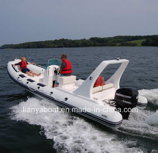 [Hot Item] Liya 6 6m Best Rigid Inflatable Boats with Outboard Motor