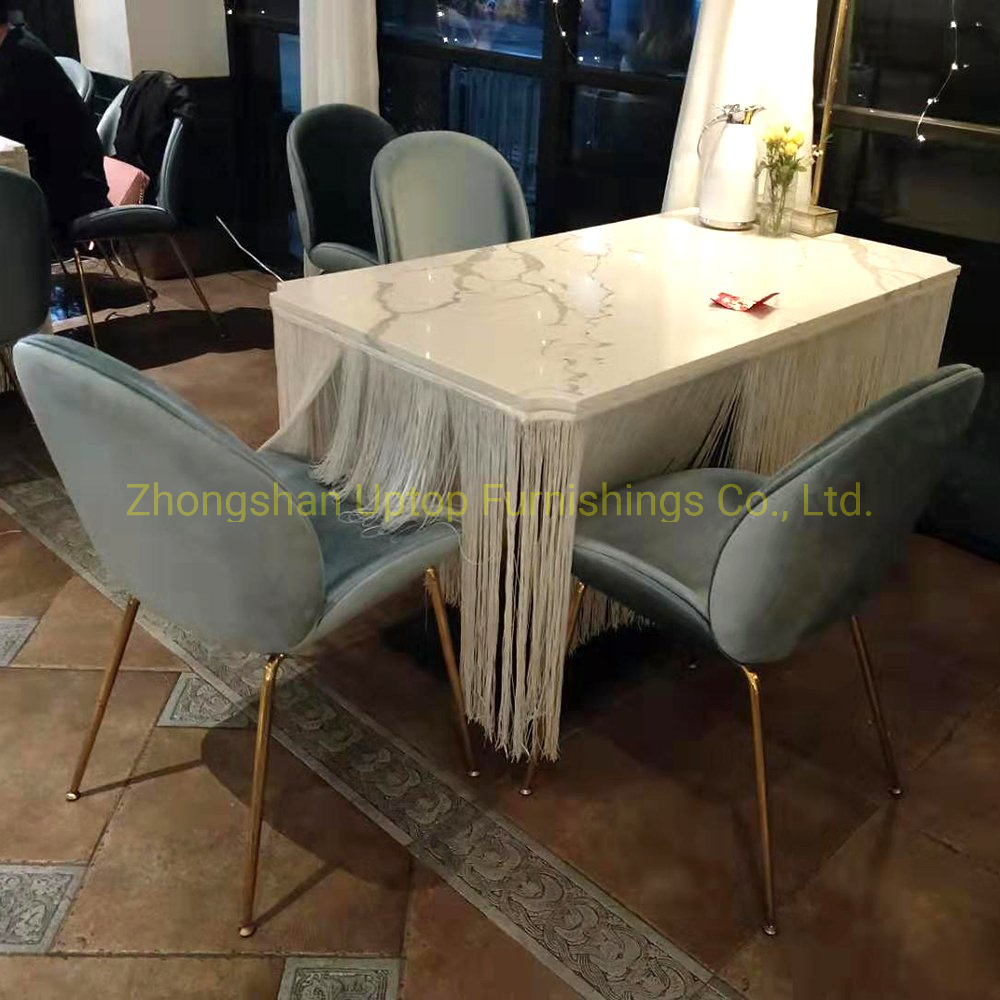China Modern Style Used Restaurant Furniture Dining Sets Photos