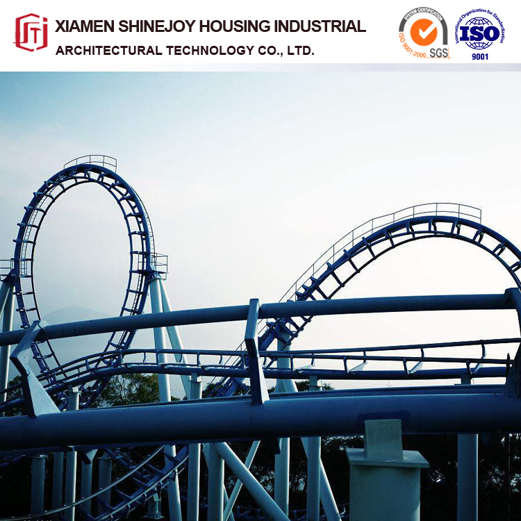 China Steel Structure Design Outdoor Playground Big Roller Coaster China Game Machine And Geared Motor Price