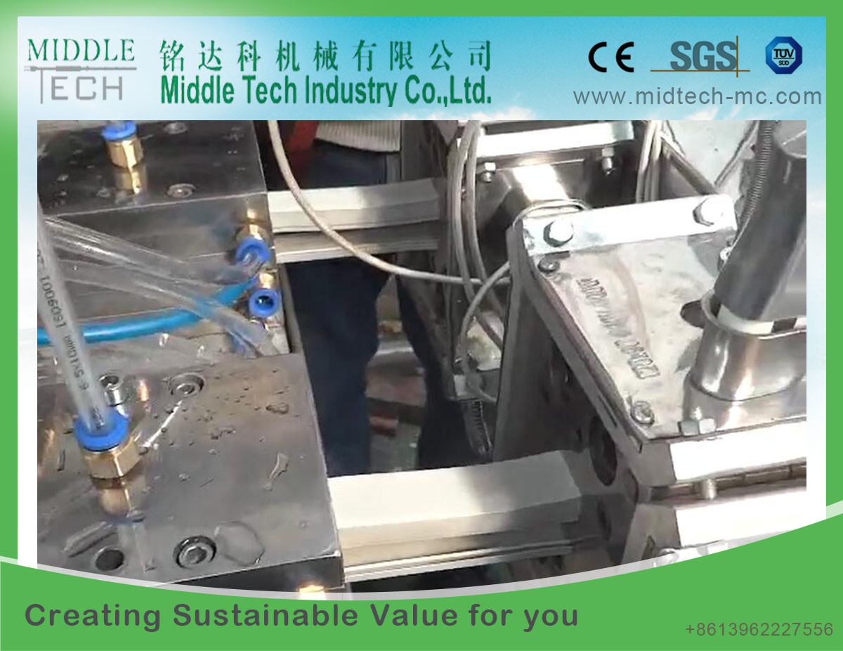China Plastic Pvc Pe Window Door Sealing Profile Extruder