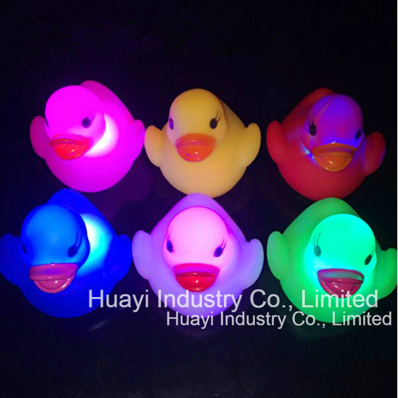 China Floating Water Activated Color Changing Rubber Ducks Bath Toy ...