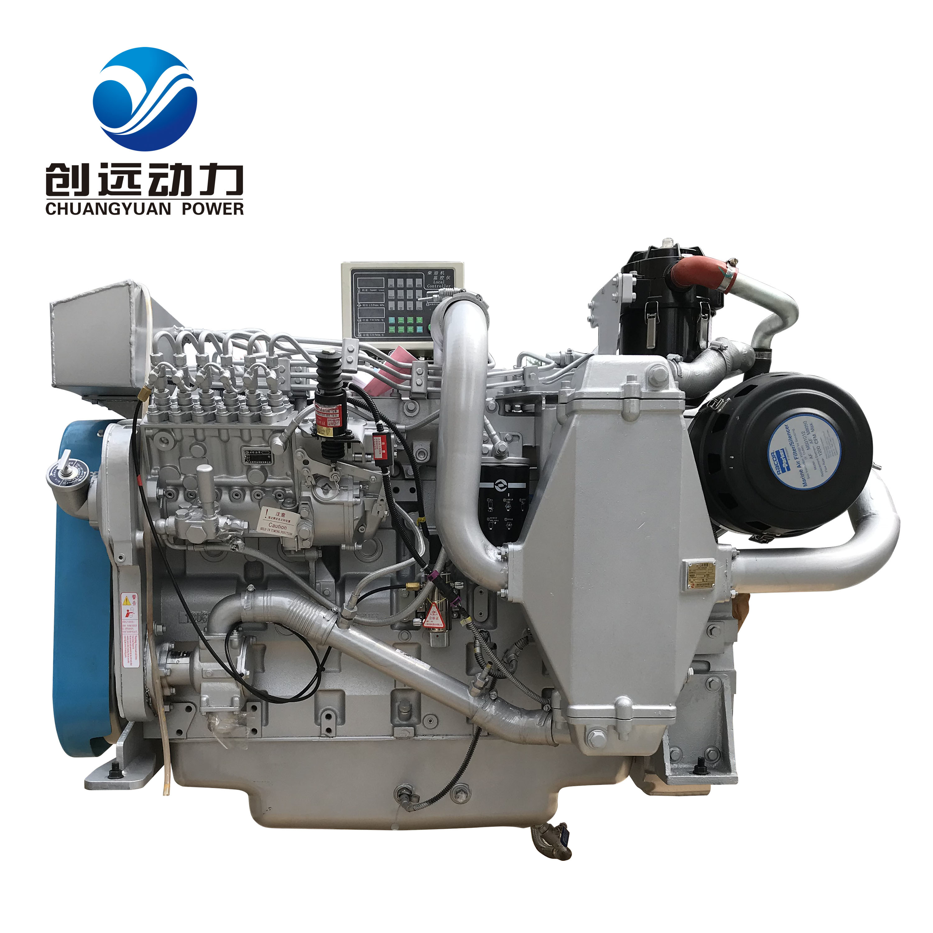 [Hot Item] High Speed Sdec 360 HP 6 Cylinder Small Marine Diesel Engine for  Boat D683