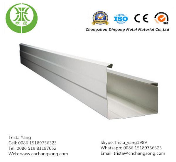China Fascia Gutter Use Color Coated Aluminum Stripe Coil