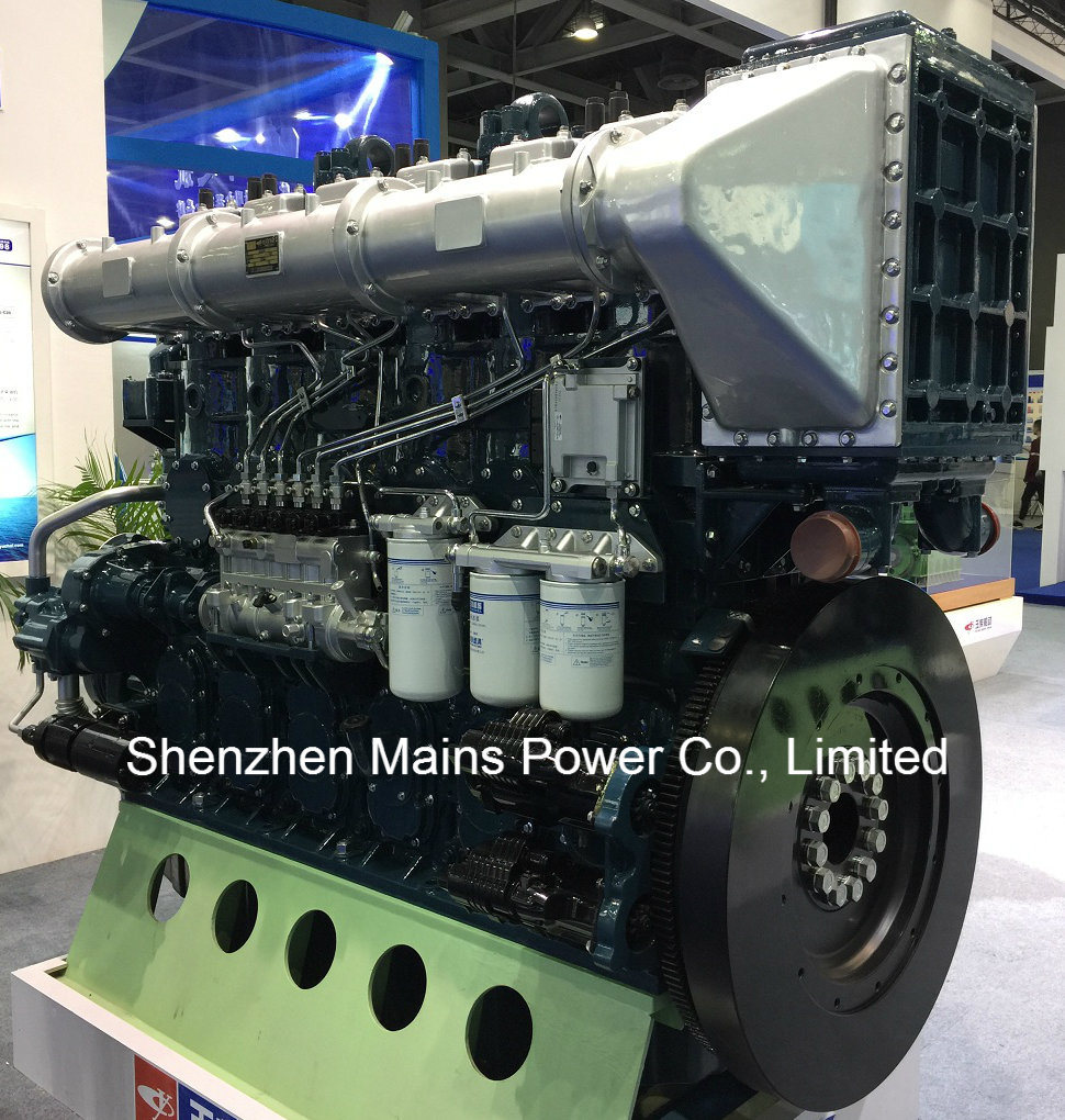 1135HP 1000rpm Germany Technology Yuchai Marine Diesel Engine Inboard Motor pictures & photos