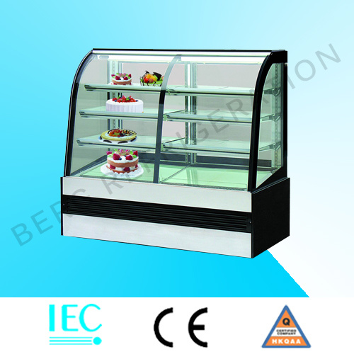 Luxury Marble Cake Display/Bakery Display Refrigerator