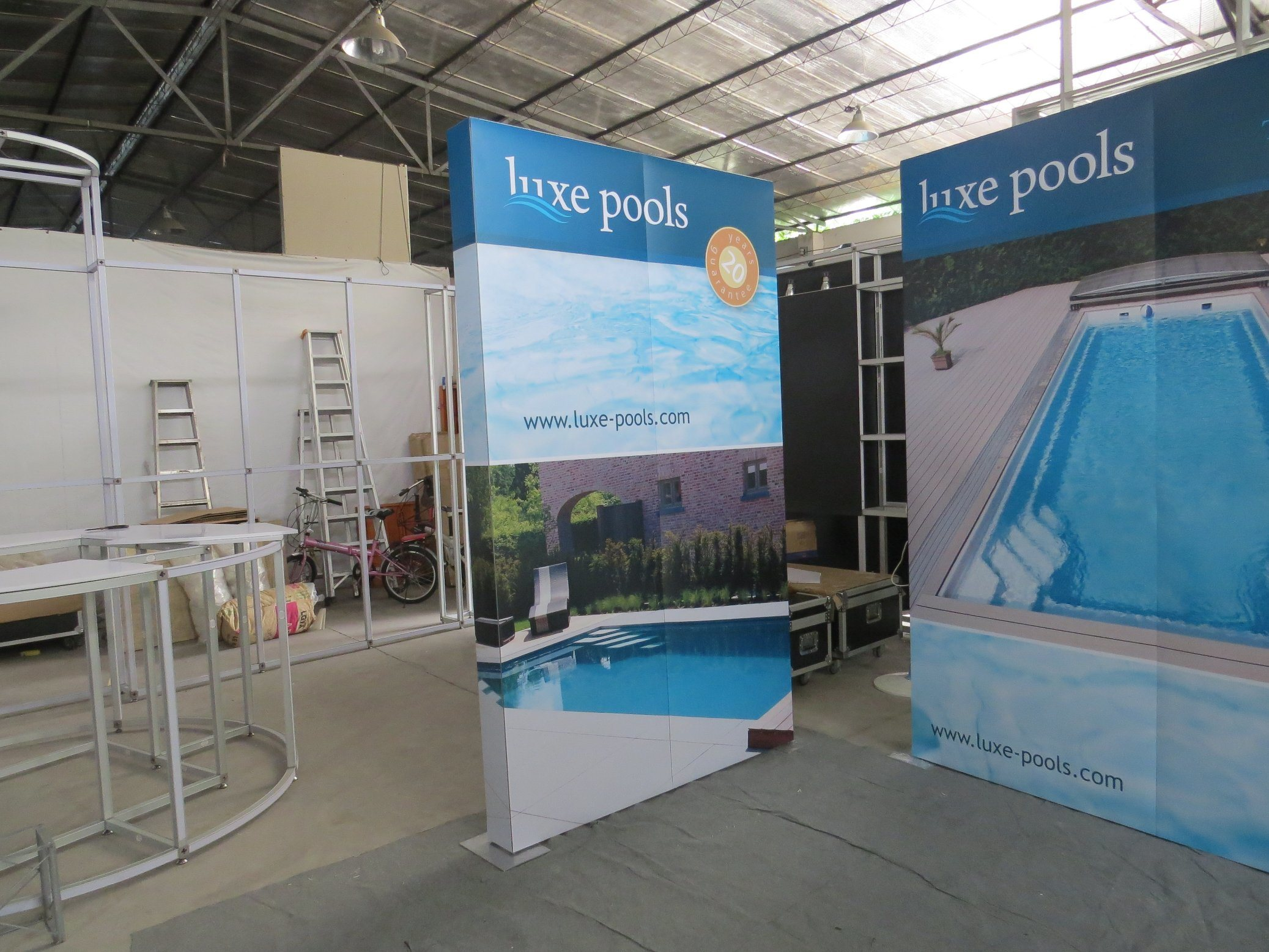 Exhibition Booth Banner : China custom trade show exhibition booth portable modular banner