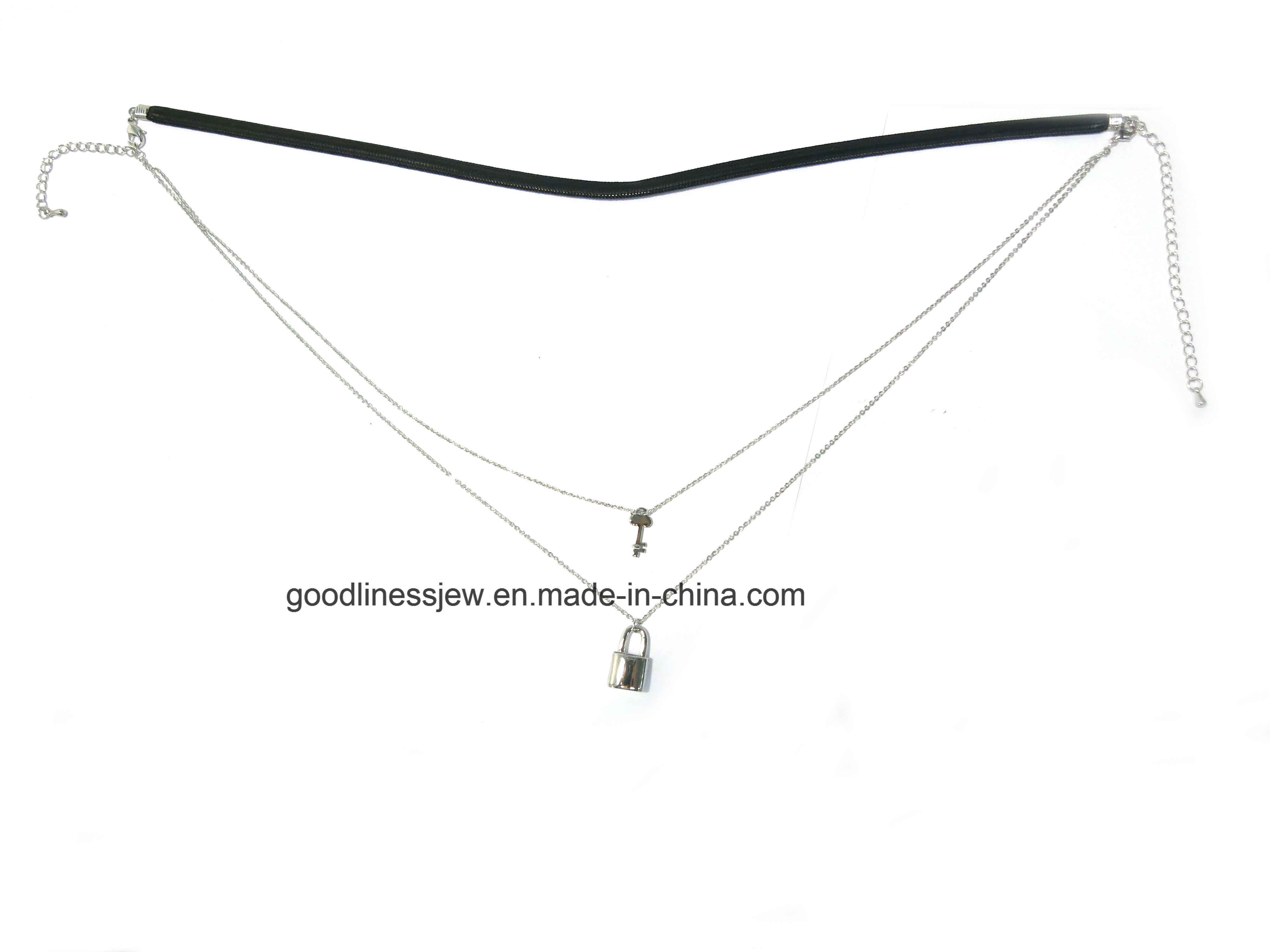 Special Design Fashion Leather Sterling Silver Necklaces Leather Chain with  Round Shape Pendant Women Necklaces N6861 9d1c8b5e27f2