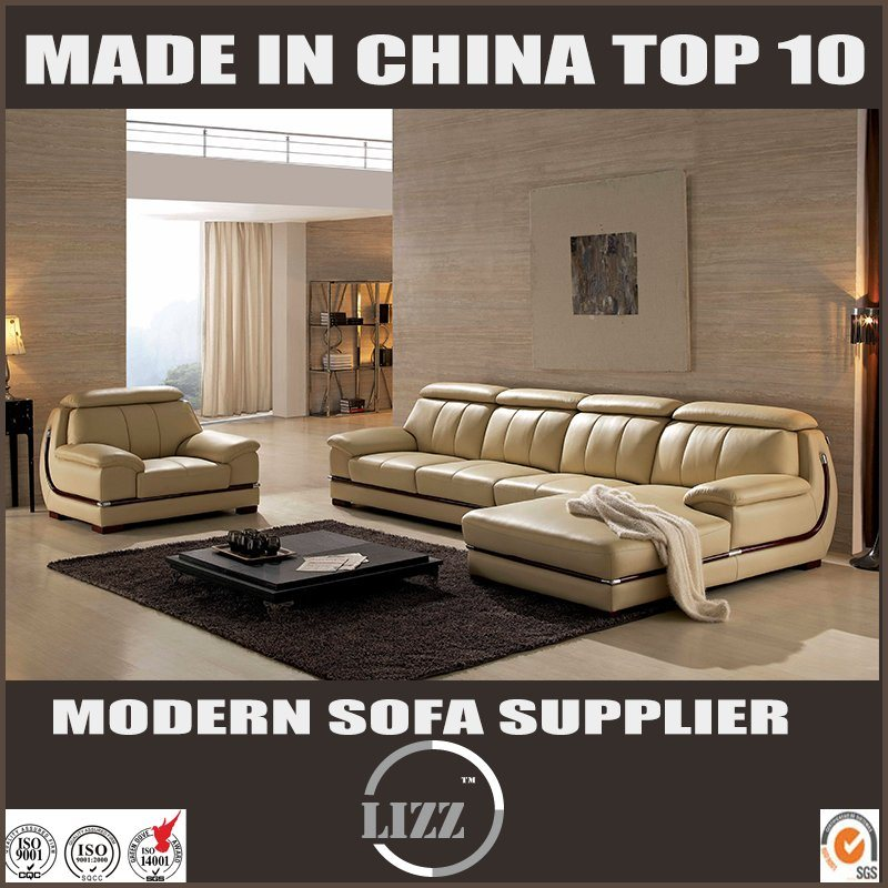 [Hot Item] Furniture Manufacturers Sitting Room Modern Italian Leather Sofa