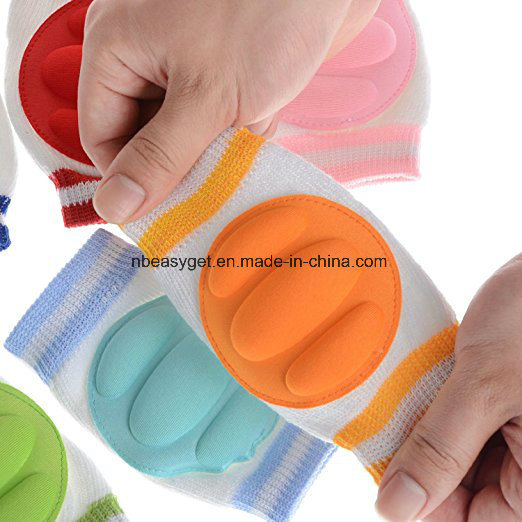 Breathable Elastic Unisex Infant Toddler Baby Kneepads Knee Elbow Pads Crawling Safety Protector pictures & photos
