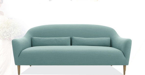 Promotional Home Furniture European Modern Simple Fabric Sofa pictures & photos