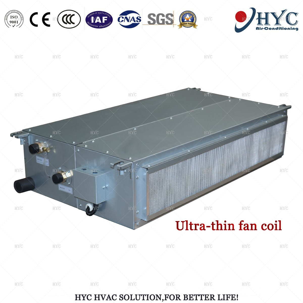 China Chilled Water Floor Standing Water Chiller Fan Coil
