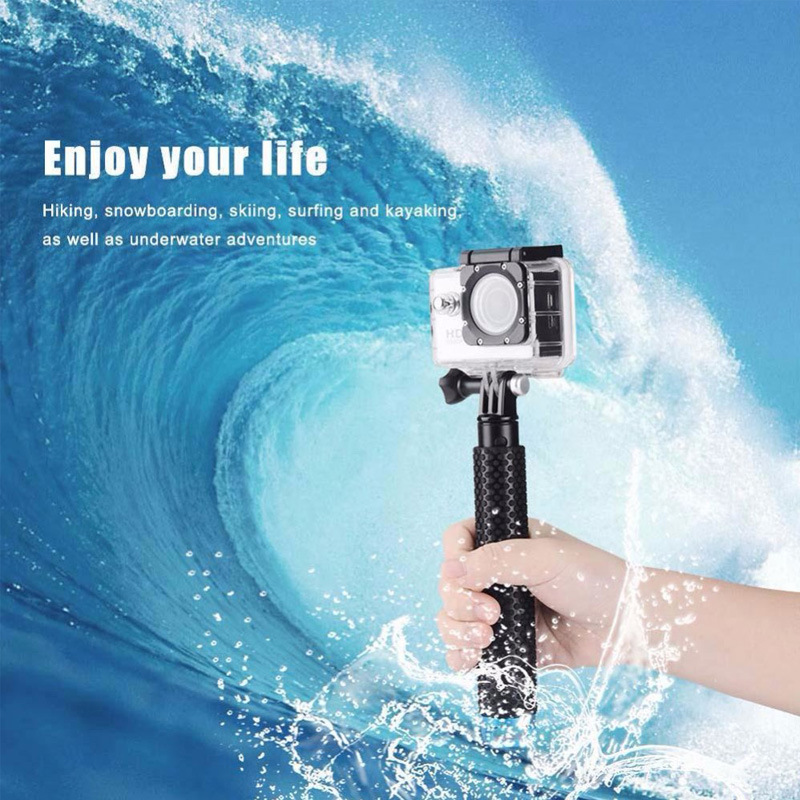 Waterproof Gopro Monopod Colorful Aluminum Selfie Stick for Gopro pictures & photos