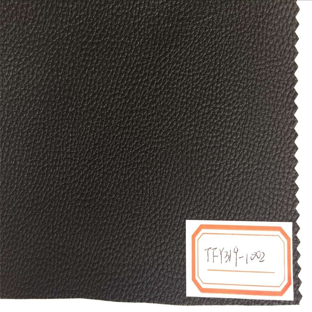 Synthetic PU Leather for Outdoor Furniture Hw-568