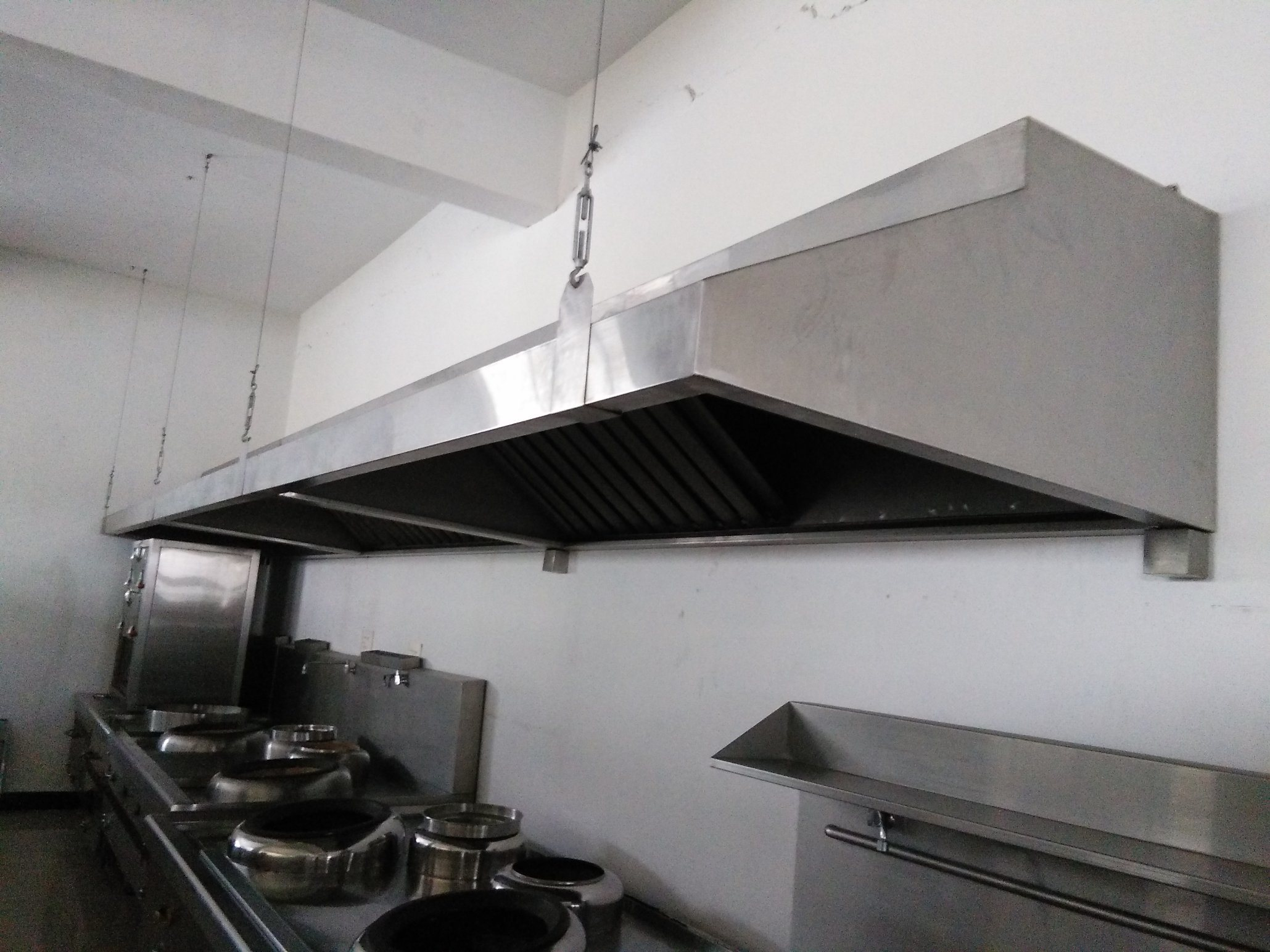 China Commercial Stainless Steel Restaurant Range Hood Photos Pictures Made In China Com