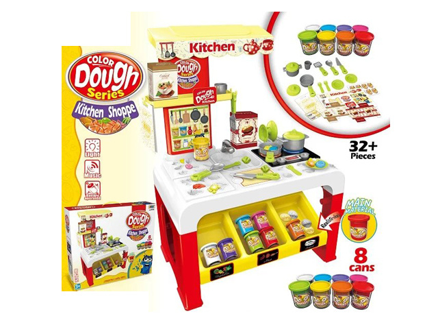 China Kids Play Dough Set of Kitchen Toy Set (H5931105) - China ...