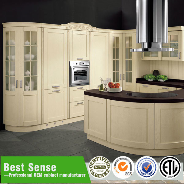 China Piano White Lacquer Finish Kitchen Cabinet For Project Home