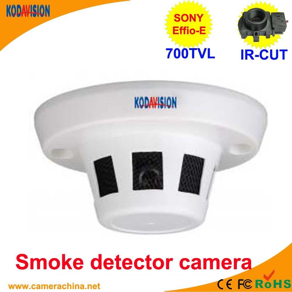 China Cctv 700tvl Smoke Detector Disguised Hidden Camera China