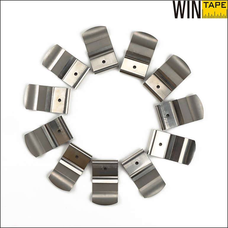 Wholesale Spring Stainless Steel Belt Clip for Tape Measure (BT)