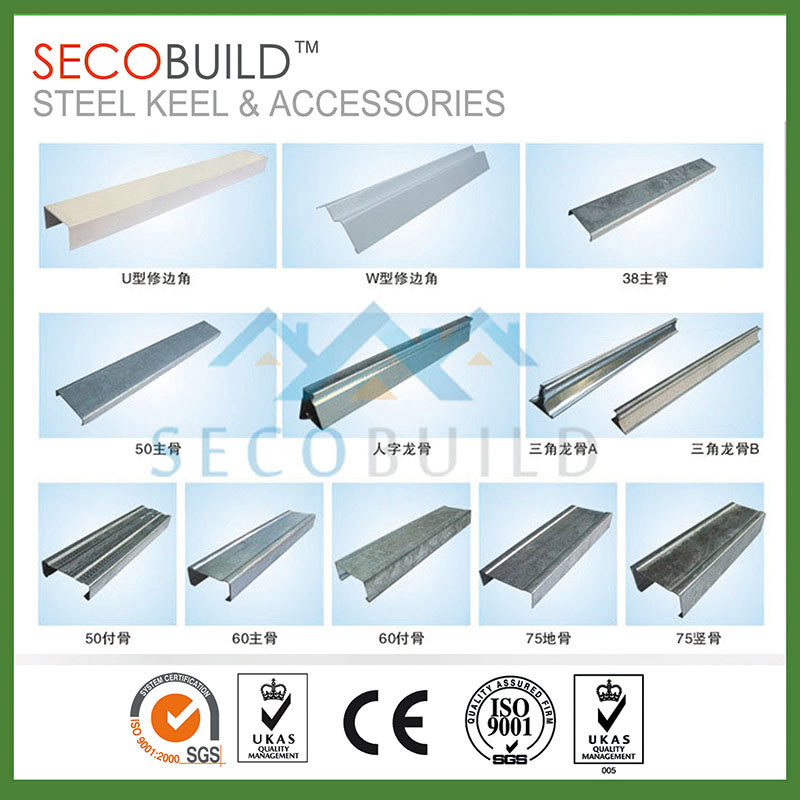 China Galvanized Steel Suspended Ceiling Components Omega