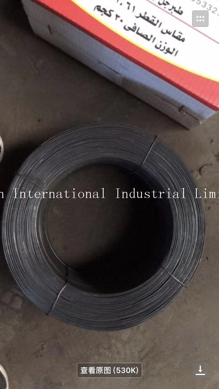 China Black Annealed Spring Steel Wire/Tie Wire/Binding Wire - China ...