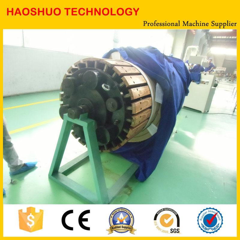Horizontal Coil Winding Machine for Transformer pictures & photos
