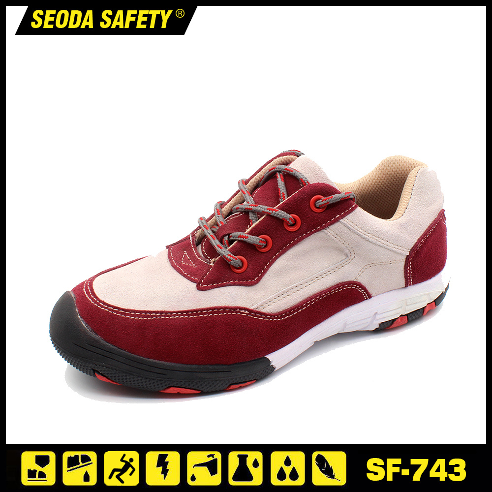 Female Safety Shoes Designed for Women