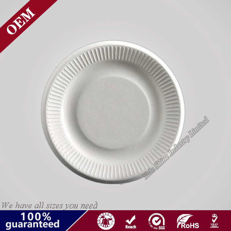 China Ecofriendly Paper Pulp Sugarcane Bagasse Oval Plates - China Round Paper Plate Disposable Paper Plate  sc 1 st  Qingdao Yide Shine Industry Co. Ltd. & China Ecofriendly Paper Pulp Sugarcane Bagasse Oval Plates - China ...