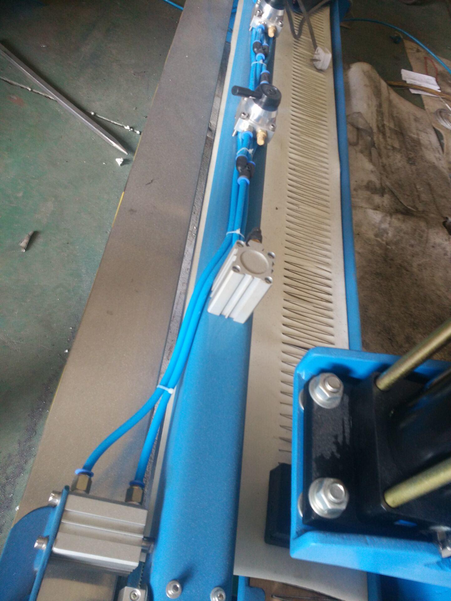 China PVC Belt PU Belt Punching Machine V Finger Preparing Splice ...