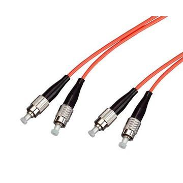 Ce Certificate FC to FC Multi-Mode Optical Fiber Jumper