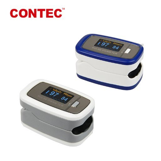 [Hot Item] Contec Cms50d1 OLED Screen Brightness Can Be Changed Display Can  Be Stored After Power off Pulse Oximeter From 20 Years Company