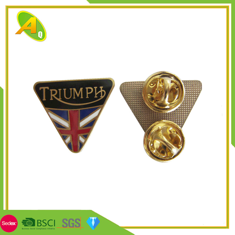 ee652e37bab China Custom 3D Gold/Silver Dragon Shape Decorative Metal Lapel Pin with  Two Butterfly Clutch Pendant (237) - China Metal Badge, School Badge