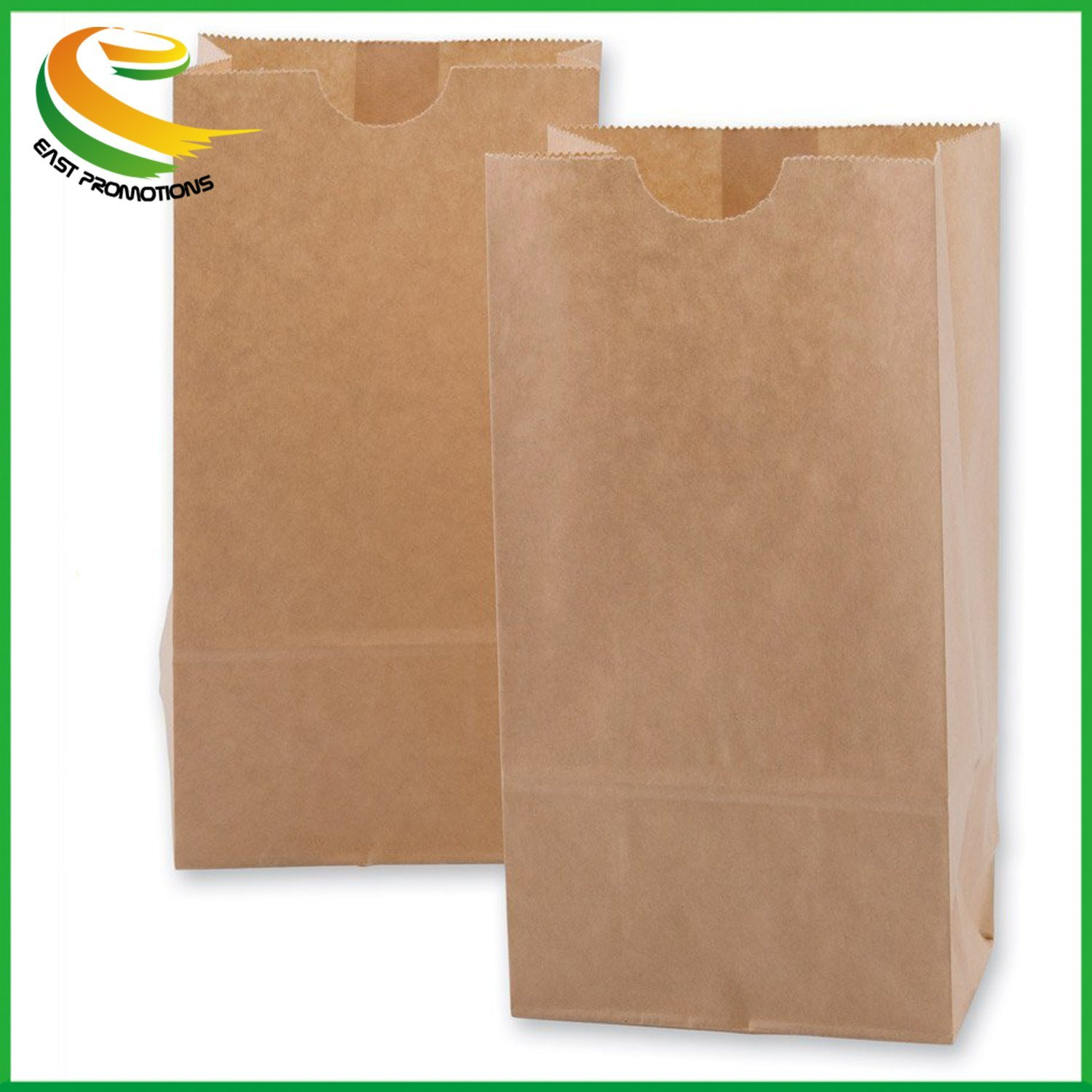 Hot Item Paper Lunch Bags Grocery Durable Kraft