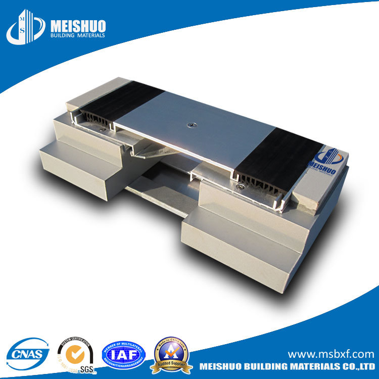 Architectural Aluminum Expansion Joint Cover Plate with Dual Durometer Seal