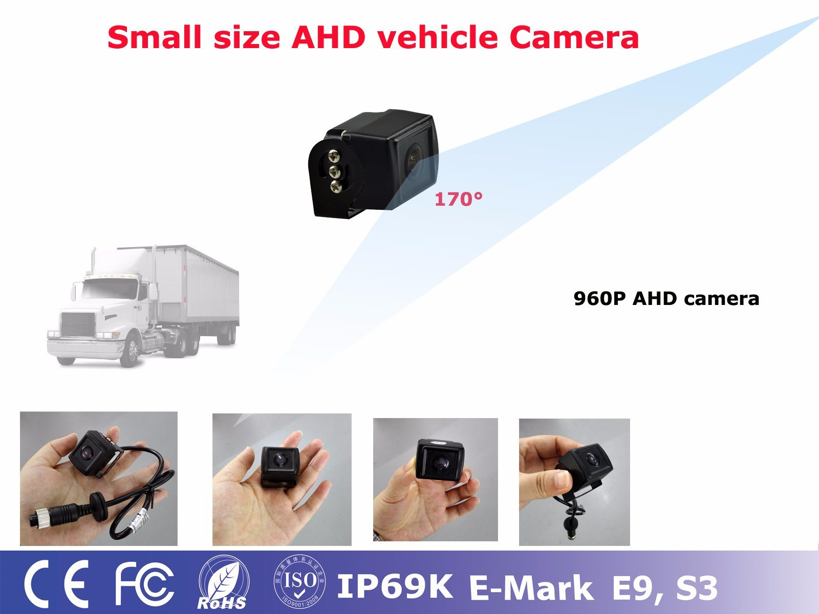 4.3 Inch Car Rear View Backup Camera System pictures & photos