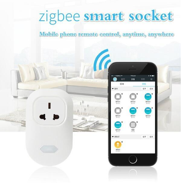Wholesale WiFi Wireless Zigbee Smart Home Automation Solution Extension Socket