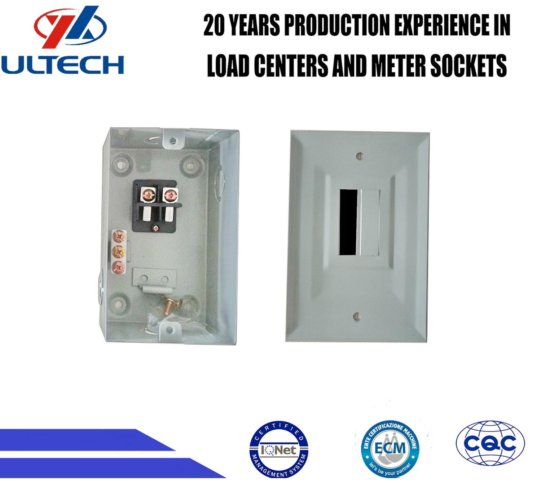China Gpd2f 2 Way Metal Electrical Control Panel Box - China ...