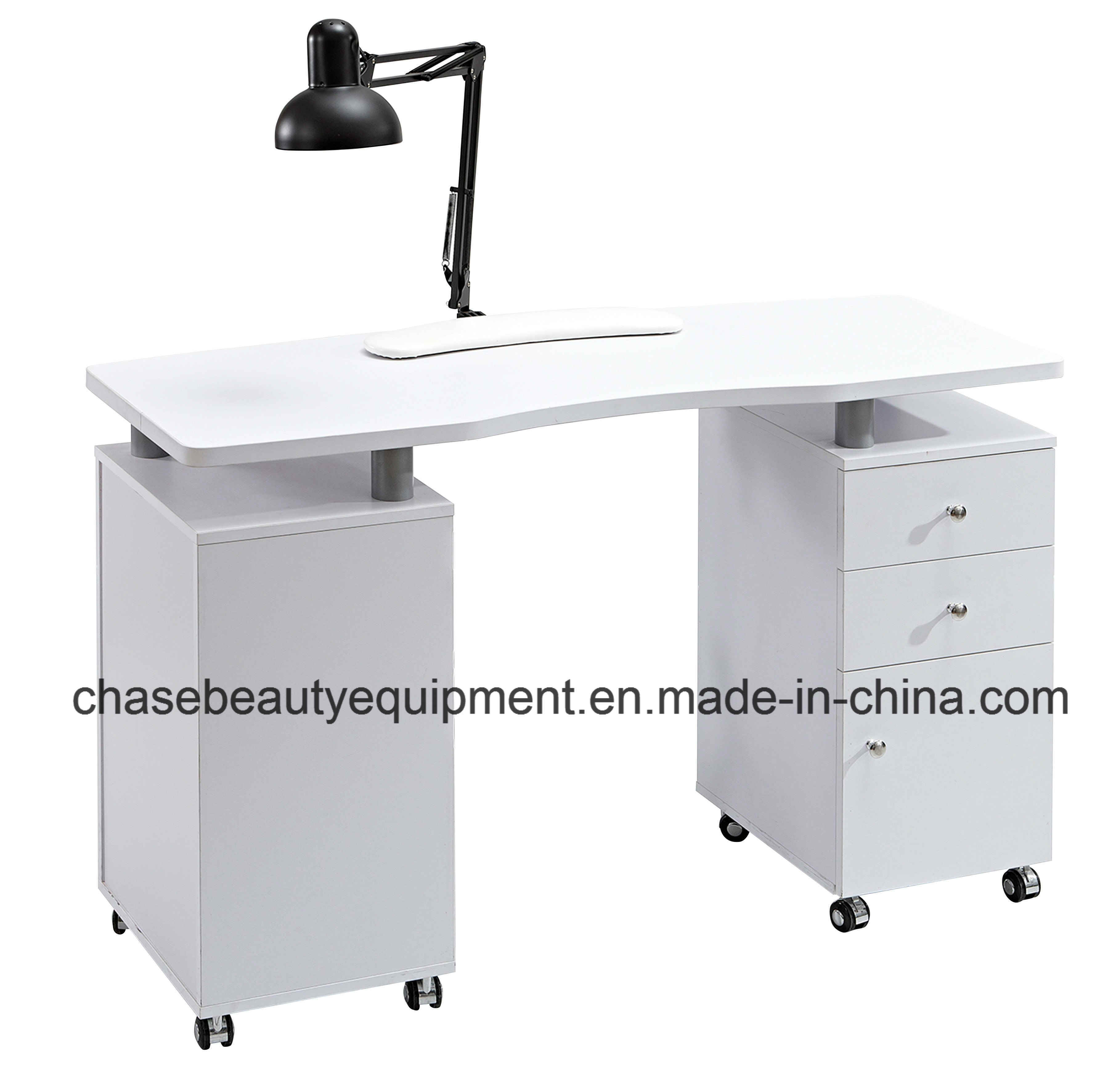 China Factory Direct Wholesale Manicure Nail Table with Exhaust Fan ...
