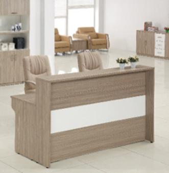 Modern Wooden Front Desk Office Reception Counter