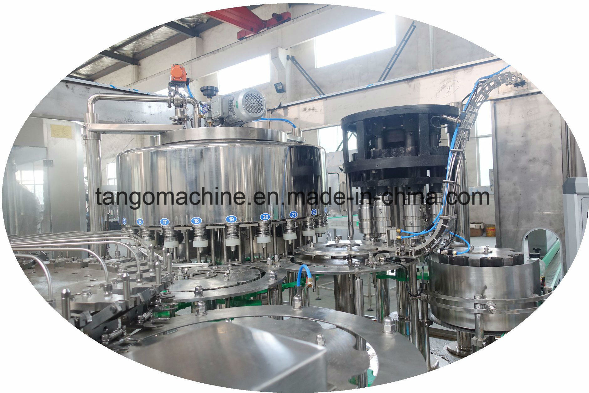 2017 New Technology Automatic Pet Bottle Juice Washing Filling Capping 3-in-1 Unit Machine pictures & photos